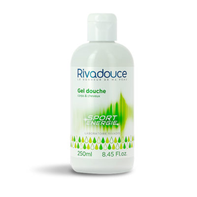GEL DOUCHE SPORT ENERGIE RIVADOUCE 250 ML