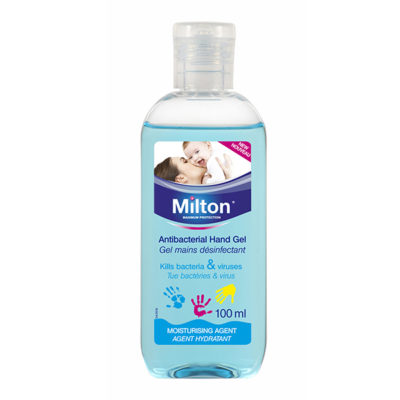 MILTON GEL MAINS DESINFECTANT FR 100 ML