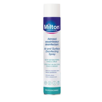 MILTON AEROSOL ASSAINISSEUR DESINFECTANT FR UK 750ML