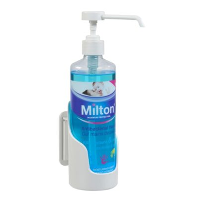 SUPPORT  MURAL + FIXATION  FLACON ROND 500ML (M2S003003)