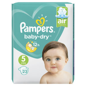 Pampers baby dry junior taille 5 - Laboratoire rivadis