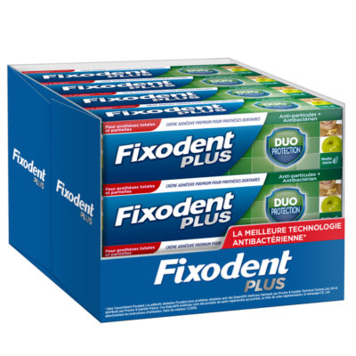 FIXODENT + CREME DUO PROTECTION 40G (X 12)