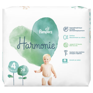 Pampers Harmonie taille 4 - Laboratoire rivadis
