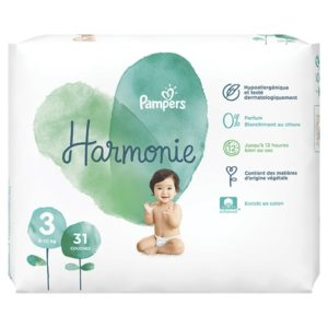 Pampers Harmonie taille 3 - Laboratoire rivadis