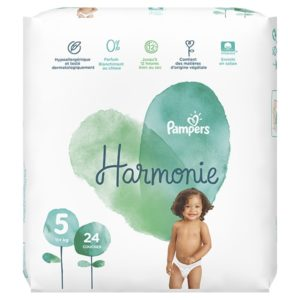 Pampers Harmonie taille 5 - Laboratoire rivadis