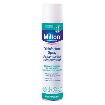 MILTON ASSAINISSEUR DESINFECTANT COMPRESSE 300 ML