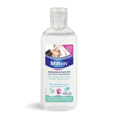 Milton gel mains désinfectant sans colorant 100 ml