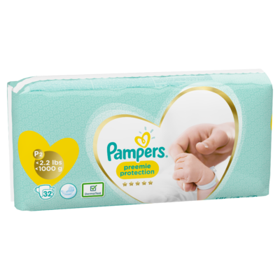 PREEMIE P-2 PAMPERS < 1 KG (8X32) (256/BOX) (90472236)