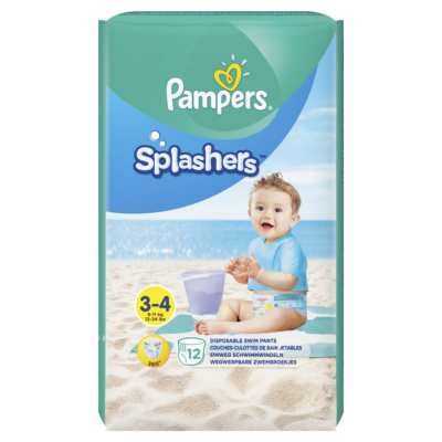 PAMPERS SPLASHERS T3 96/BOX (12X8) (90698346)
