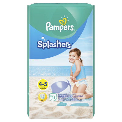 PAMPERS SPLASHERS T4 (88/BOX) (8 X 11) (90698384)