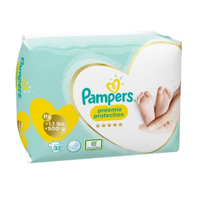 PREEMIE P-3 PAMPERS  <0,5 KG (8X32) (256/BOX) (90472199)