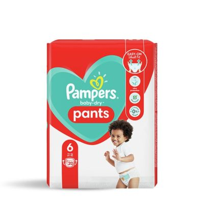 COUCHES PAMPERS BABY-DRY PANTS +15 KG - TAILLE 6
