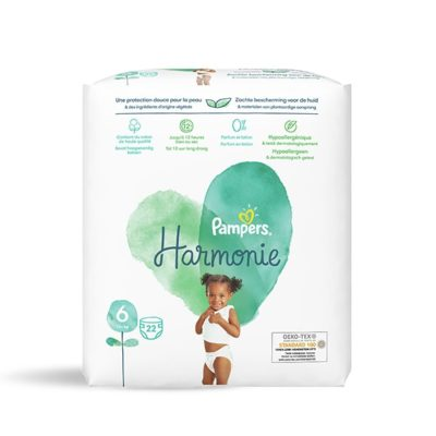 Couches Pampers Harmonie +13kg - Taille 6